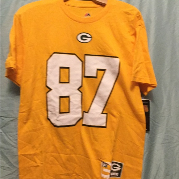 timeless design 9122f 84c16 Jordy Nelson jersey tee NWT